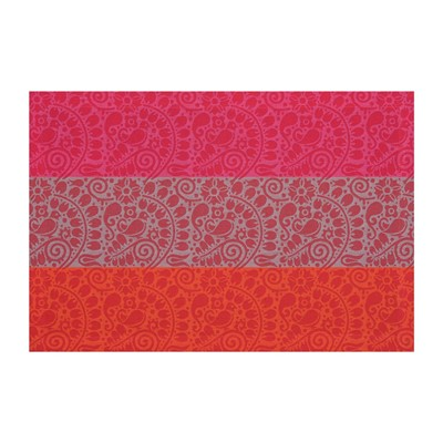 LE JACQUARD FRANÇAIS Nastasya Rubis - Sets de table - rouge