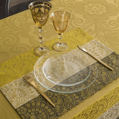 LE JACQUARD FRANÇAIS Nastasya - Sets de table - or