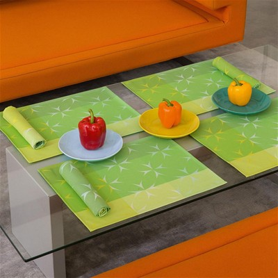 LJF BY Chromatique - Set de table enduit - pomme