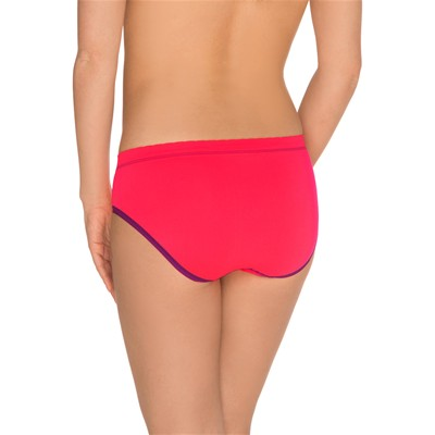 BILLET DOUX Zen attitude - Lot de 2 slips - rouge
