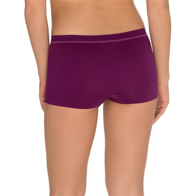 BILLET DOUX Zen attitude - Lot de 2 shorties - prune
