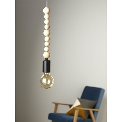 Cyrillus Suspension boules - naturel