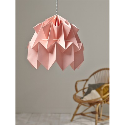 Lustre/suspension - rose