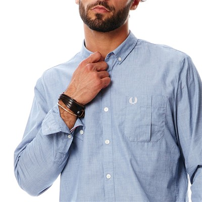 FRED PERRY Chemise - bleu