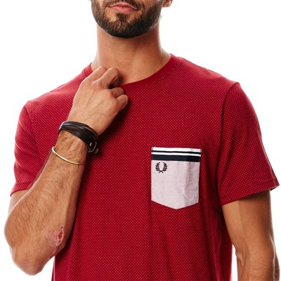FRED PERRY T-shirt - rouge