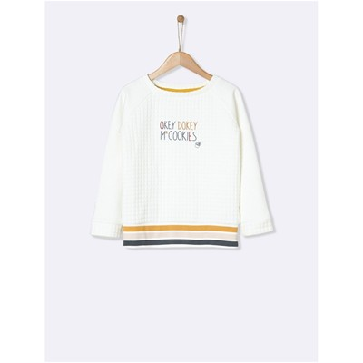 CYRILLUS Sweat-shirt - blanc
