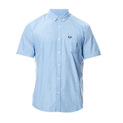 FRED PERRY Chemise - bleu ciel