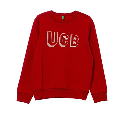 BENETTON Sweat-shirt - rouge