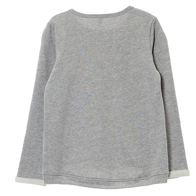 BENETTON Sweat-shirt - gris