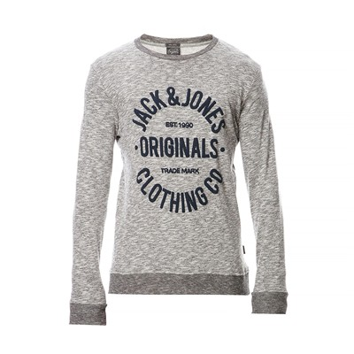 JACK & JONES Sweat-shirt - gris foncé
