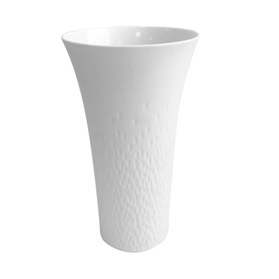 GUY DEGRENNE Boréal Satin - Vase - blanc