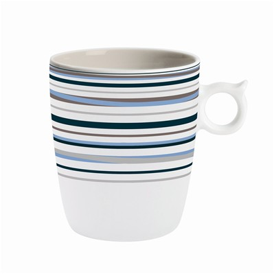 GUY DEGRENNE Hulahoop Multicolore - Lot de 6 mugs - multicolore