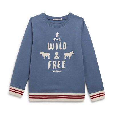 MONOPRIX KIDS Sweat-shirt - bleuet