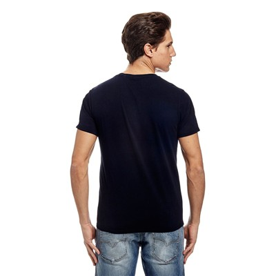 GUESS Triangle - T-shirt - bleu marine