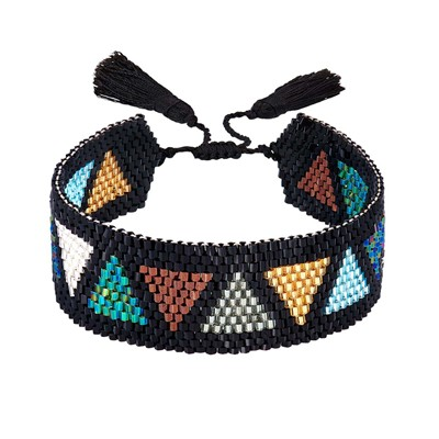 Indian Summer bracelet manchette - multicolore