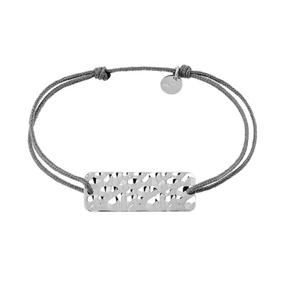 Bracelet finition argent - multicolore