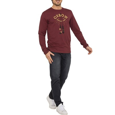 OXBOW Tilole - T-shirt - bordeaux