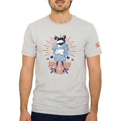 OXBOW Tavers - T-shirt - gris chine