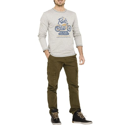 OXBOW Tirem - T-shirt - gris chine