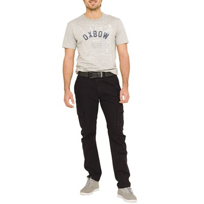 OXBOW Boutry - Pantalon cargo - noir