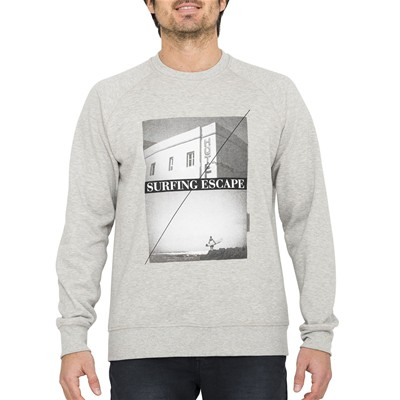 OXBOW Sarto - Sweat-shirt - gris chine