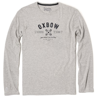 OXBOW Takil - T-shirt - gris chine