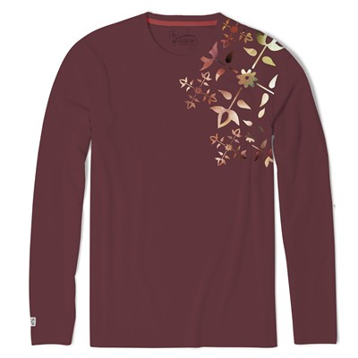 OXBOW Tranc - T-shirt - bordeaux
