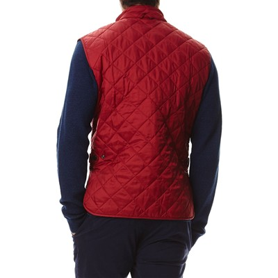 BARBOUR Coldgate - Doudoune sans manches - rouge