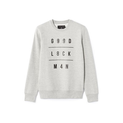 CELIO Sweat-shirt - gris chine