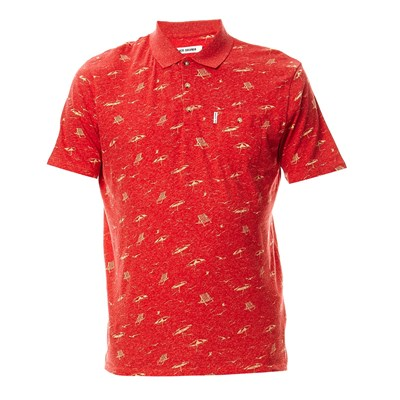 BEN SHERMAN Polo - rouge