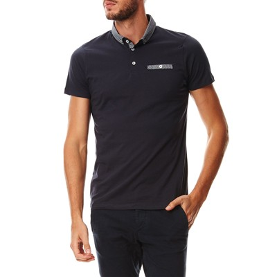 JACK & JONES Polo - bleu marine