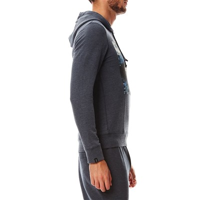 JACK & JONES Sweat à capuche - bleu marine