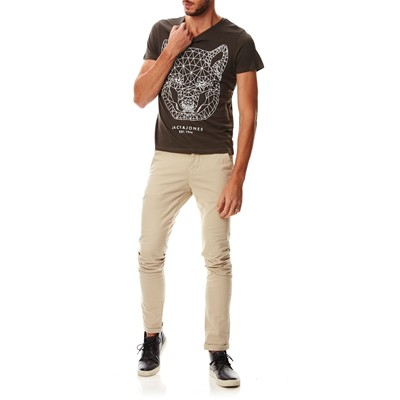 JACK & JONES T-shirt - anthracite