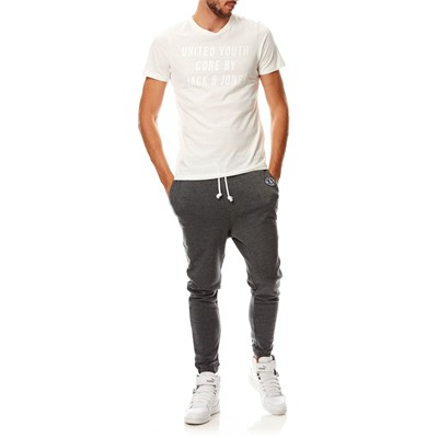JACK & JONES Sharp - T-shirt - blanc