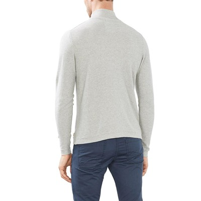 EDC BY ESPRIT Sweat-shirt - gris clair