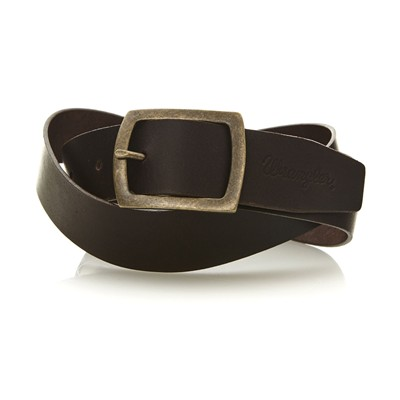 WRANGLER Central Bridge - Ceinture à boucle carrée - marron