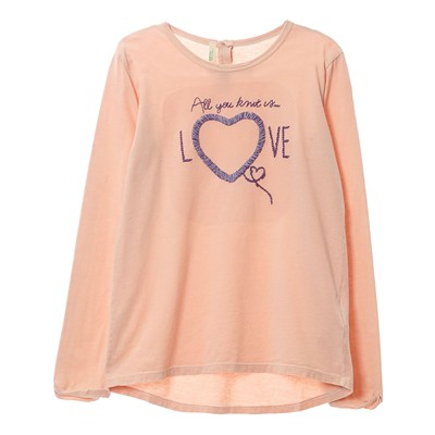 BENETTON T-shirt - rose