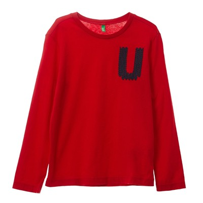 BENETTON T-shirt - rouge