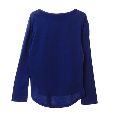 BENETTON T-shirt imprimé sequins - bleu