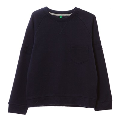 BENETTON Sweat-shirt - bleu