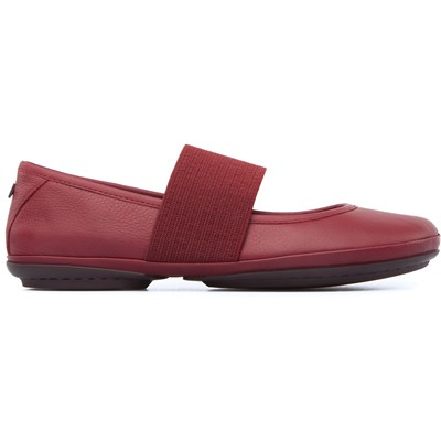 CAMPER Right - Ballerines en cuir - rouge
