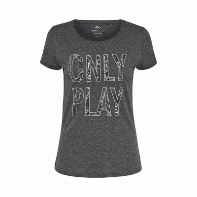 ONLY PLAY Berit - T-shirt - gris