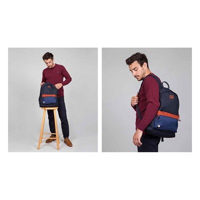 FAGUO Backpack - Sac à dos - bleu marine