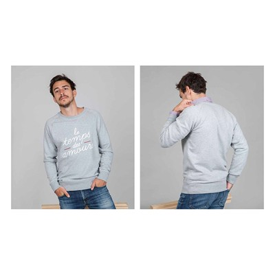 FAGUO Darney - Sweat-shirt - gris