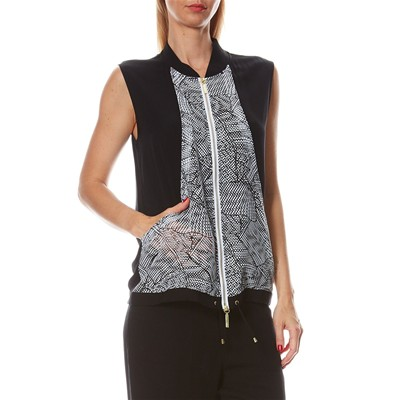 LA PERLA Sunset beach - Gilet - noir