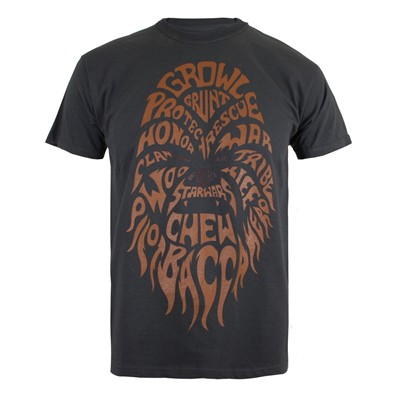 Chewbacca Text - T-shirt - noir