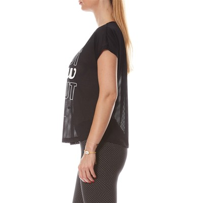 MOREEN LOOSE - T-shirt - noir