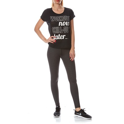 ONLY PLAY MOREEN LOOSE - T-shirt - noir