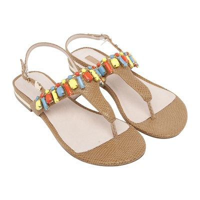 zapatillas Lollipops Sandalias beige