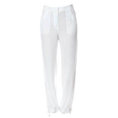 LA PERLA Sunset beach - Pantalon - blanc
